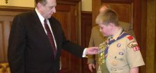 'Scouting teaches boys how to live': A prophet's lifelong love of Scouts