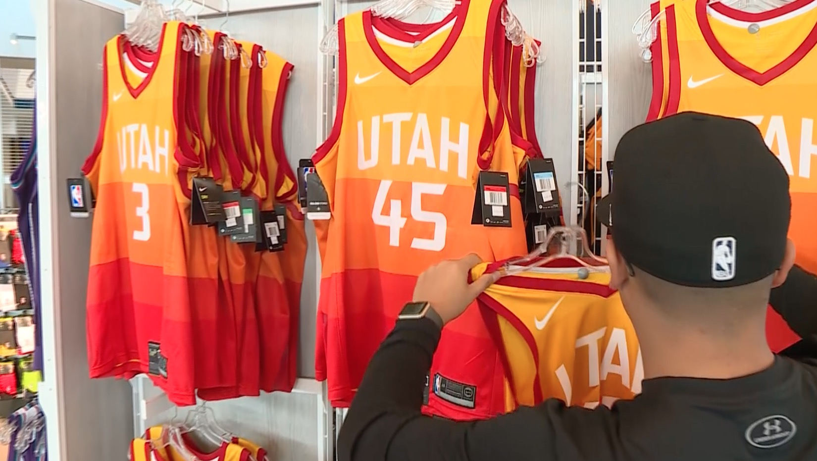 b011d56b4 ... nba swingman city edition jersey ce063 6e659  australia sold out jazz  jerseys are as popular as they are difficult to find ksl a0992
