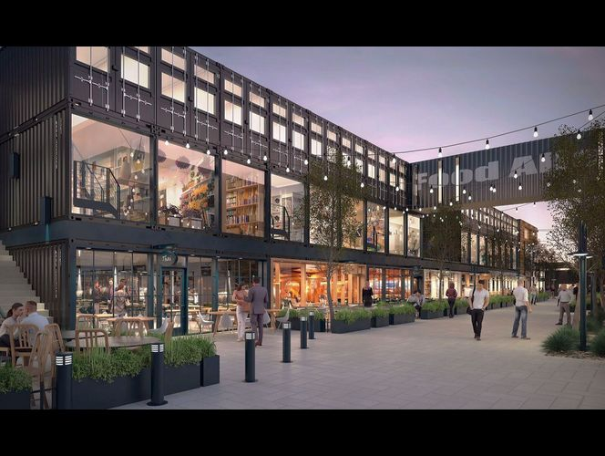 \'Food Alley\' development to bring 17 restaurants to SLC in 2019