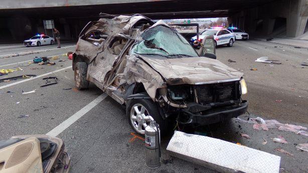 New Harmony man killed in wild I-215 crash | KSL.com