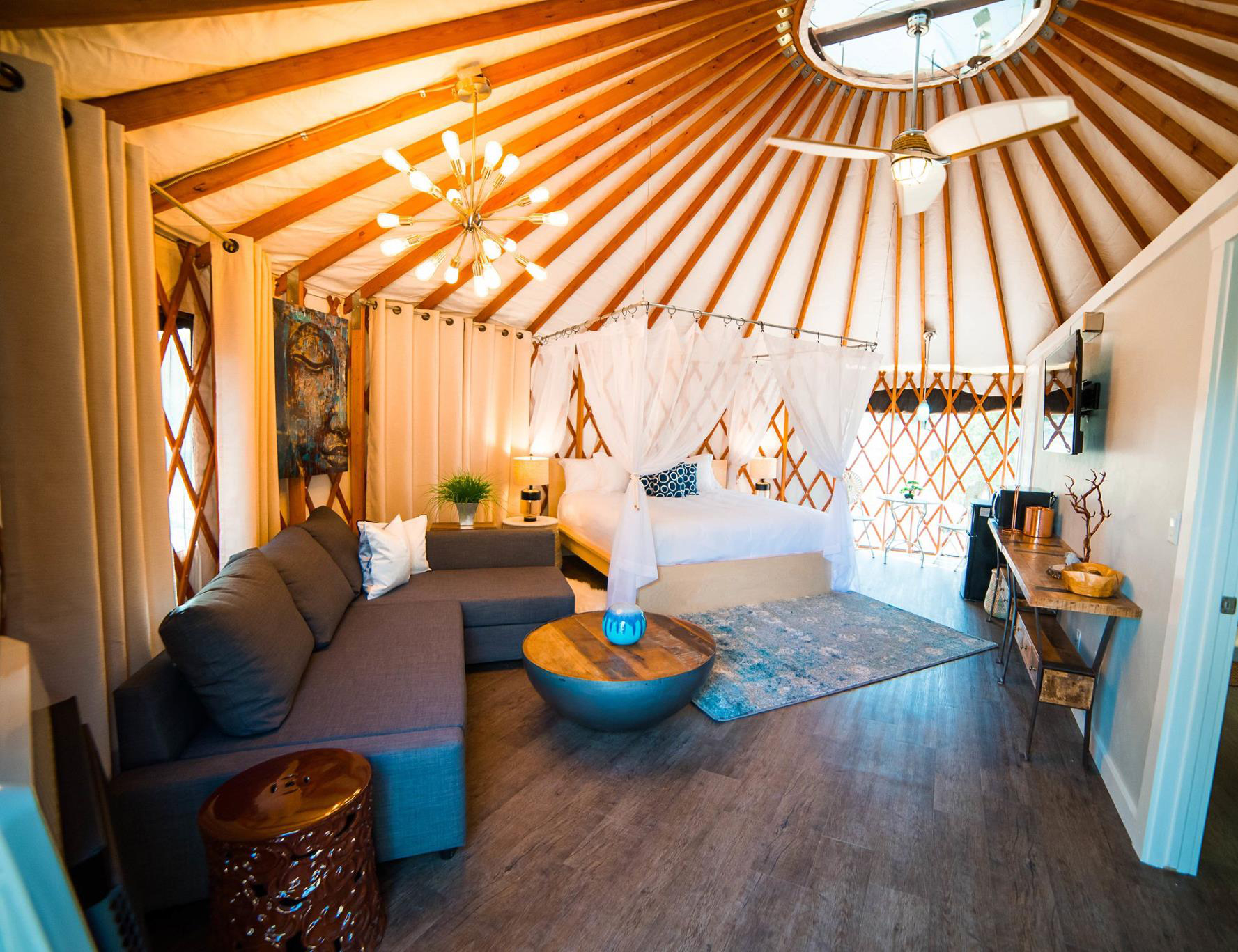 Be Alert When Booking A Yurt.