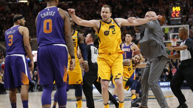 567b850e4 Top 5 on-court scuffles in Utah Jazz history