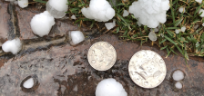 Severe storm brings half-dollar-sized hail to several parts of the valley