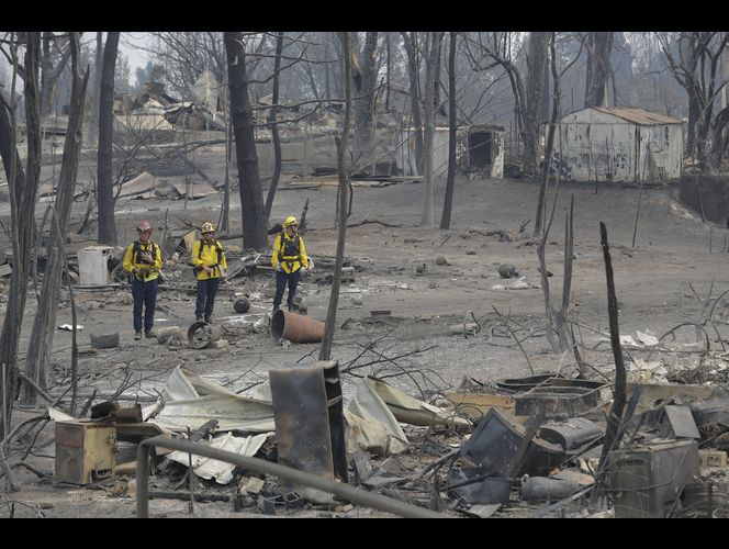 Northern California wildfire 9th most destructive in history
