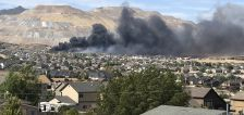 User submitted: Photos show fires in Herriman and Utah County
