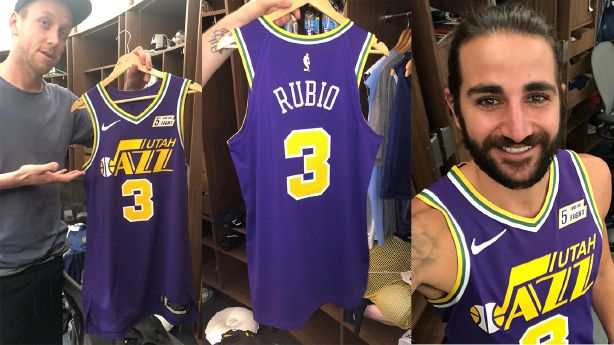 the best attitude c4d98 34748 Utah Jazz going purple with 2018 throwback jersey | KSL.com