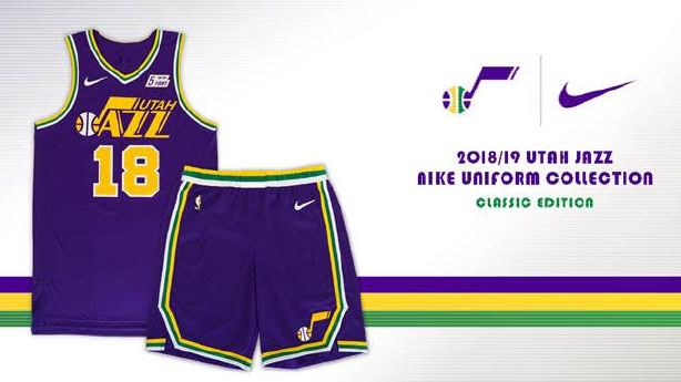pretty nice cba99 05079 Jazz officially release new Classic Edition jerseys to ...
