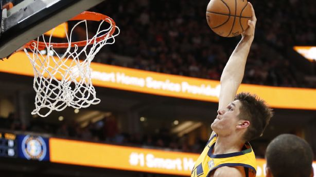 2fcbfa9853f Despite home loss to Memphis, rookie Grayson Allen provides spark for Jazz  | KSL.com