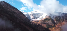 Video: Heavenly autumn scenes in Utah's mountains