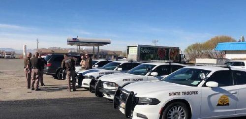 Extra UHP troopers patrolling US Highway 6 in Spanish Fork