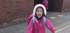 Have You Seen This? Compilation of girl greeting sister after school is adorable