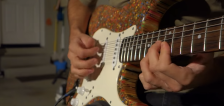 Have You Seen This? Guy makes guitar out of colored pencils