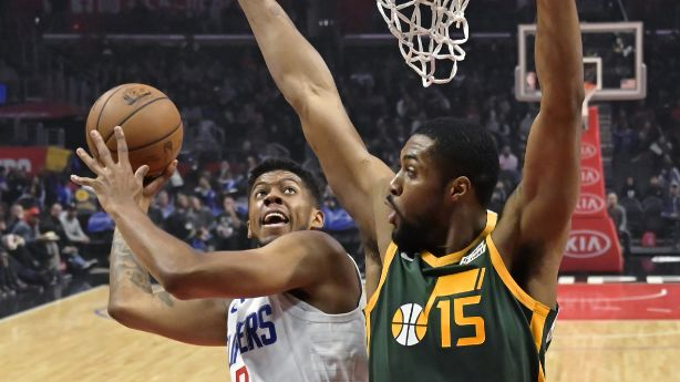 Gobert, Mitchell lead Jazz to big win over Clippers