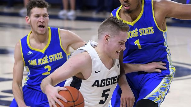 39e61520171 Utah State leads local men's basketball teams with best chances to make  NCAA Tournament | KSL.com