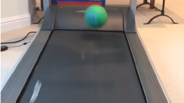 Have You Seen This? Thwup … thwup, says the treadmill ball
