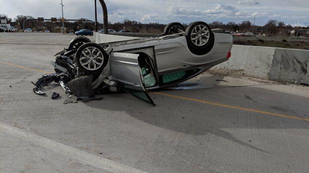 UHP: High school students may have saved a man's life after Salt Lake City crash