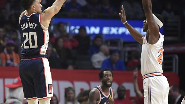 288f782c5 Clippers send Knicks to 50th loss with 128-107 victory