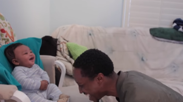 Have You Seen This? Dad loses it big time in 'rap battle' with son