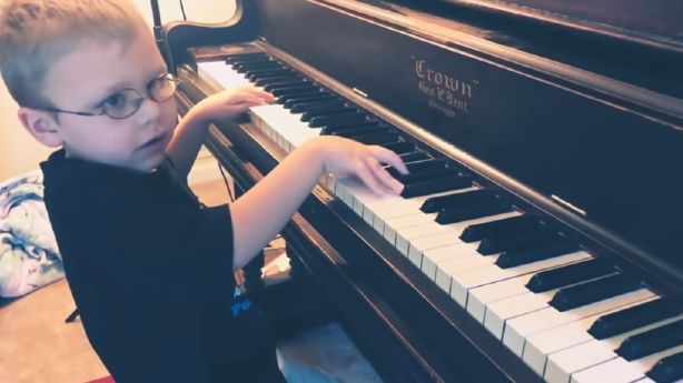 Have You Seen This? Blind 6-year-old plays 'Bohemian Rhapsody'