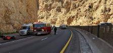 Motorcyclist dies in crash near Utah-Arizona state line