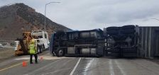 String of semitruck rollovers leads to safety concerns at major junction