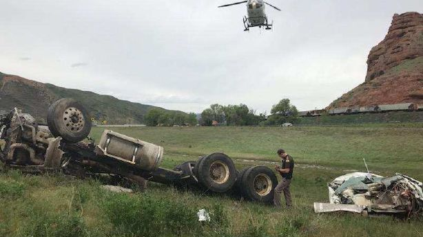Man suffers 'very serious' injuries in Summit County rollover crash