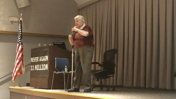 Noted author, Auschwitz survivor shares memories from Holocaust at Utah event
