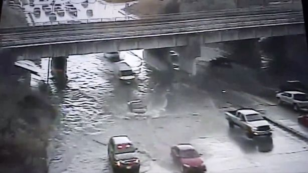 Flooding impacting roads as rain continues in Salt Lake