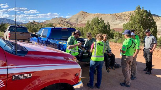 3 overdue hikers rescued in Capitol Reef National Park
