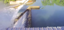 Video shows dramatic moment dam spillgate collapses