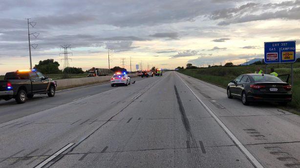 I-15 northbound reopens near Willard Bay after fatal auto-pedestrian crash