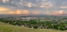 Pics of the month: Stormy skies give way to pretty sunsets in Utah during June