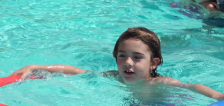 Mother shares story after son nearly drowned in neighborhood pool
