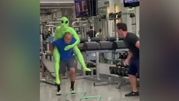 Have you seen this? Training to save the aliens