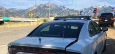 2 Utah troopers' cars hit in separate freeway incidents