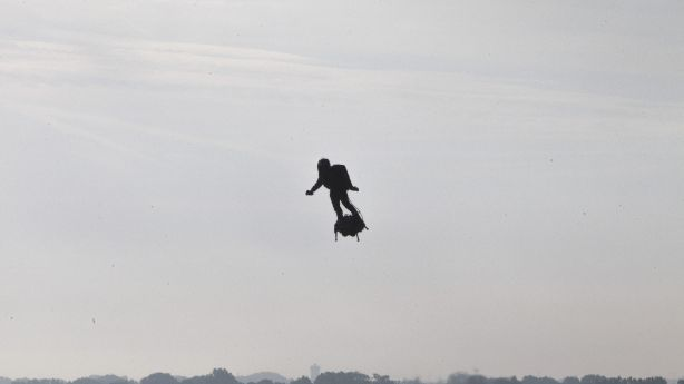 Have You Seen This? Guy flies across English Channel on hoverboard