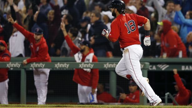 Moreland's 3-run HR, 7 pitchers carry Red Sox past Yanks 6-1