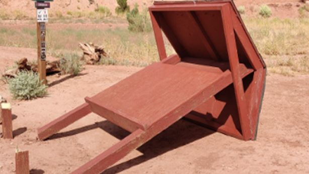 Federal land managers: 3 trailhead kiosks, highway sign destroyed near Moab