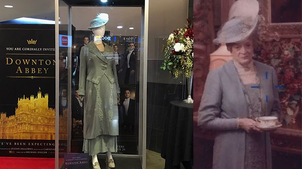 Downton Abbey costume on display at South Jordan Megaplex