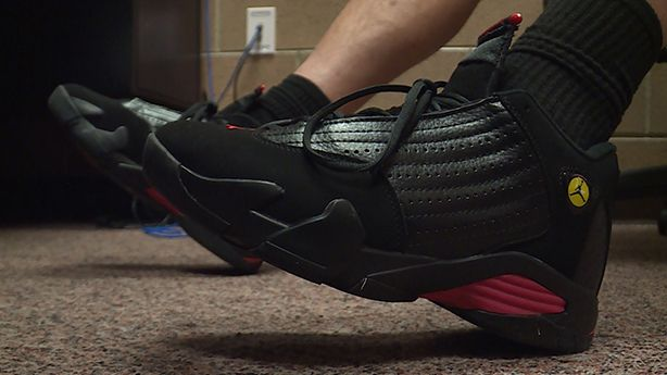 Utah students pool money to buy PE teacher his dream shoes