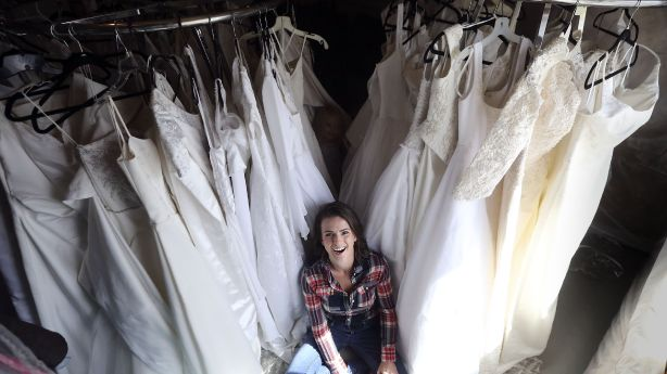 Utah mom wants to give 50 wedding dresses to other single moms preparing for weddings