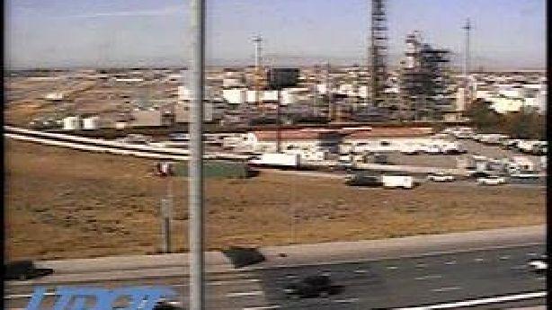 Driver injured after semitruck rolls off southbound I-15 in North Salt Lake