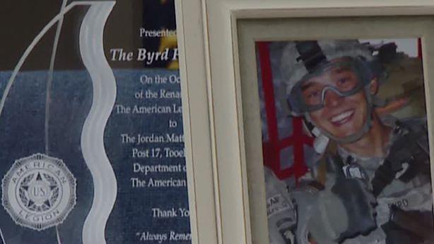 Tooele American Legion post renamed to honor fallen Utah solider