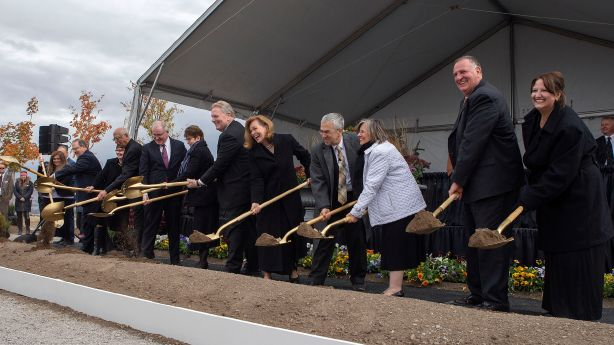 Latter-day Saint leaders hold groundbreaking for Saratoga Springs Temple