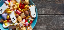 Which popular Halloween candy has the most sugar?