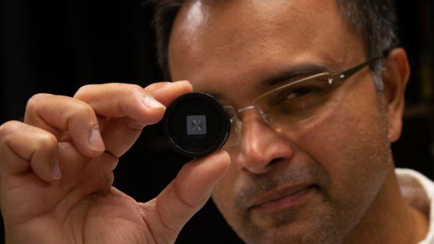 University of Utah engineers develop ultrathin camera lens