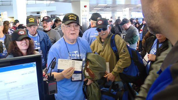 48 Utah veterans fly to Washington for Honor Flight to see memorials