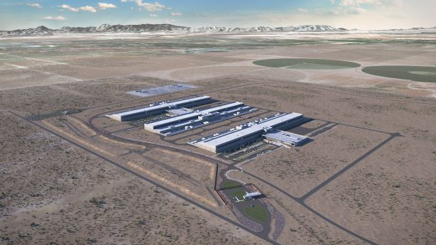 Facebook data center under construction in Eagle Mountain will expand by 500K square feet