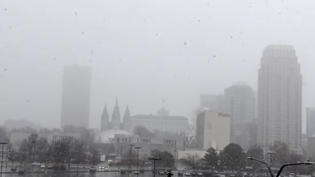 Storm strikes Wasatch Front during Friday morning commute