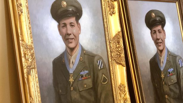 Jose Valdez, who fought off enemy tank with a rifle, remembered 75 years after his death